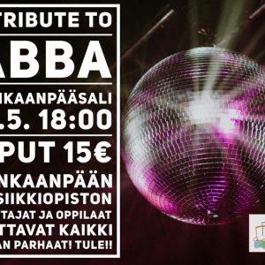 """""""A Tribute to ABBA"""" -konsertti"""